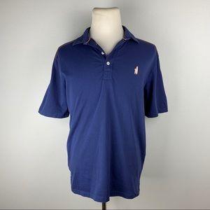 Johnnie-O Centennial Navy Blue Polo Shirt